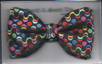 Ready Tied Woven Silk Bow Tie - PC.049